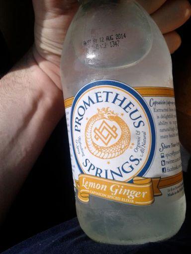 lemo ginger drink