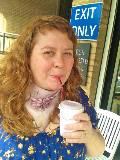 Anika loves juice