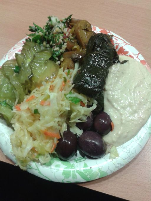 Mixed plate