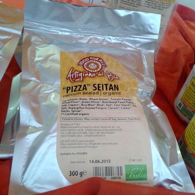 pizza seitan