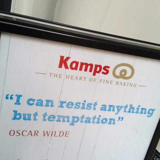 A camp sign from Kamps