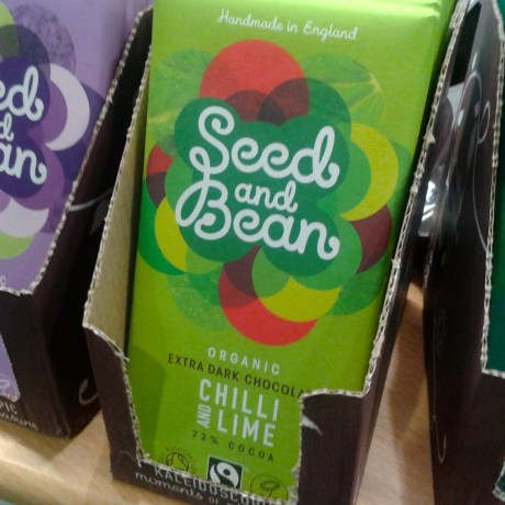 Seed and Bean chocolates