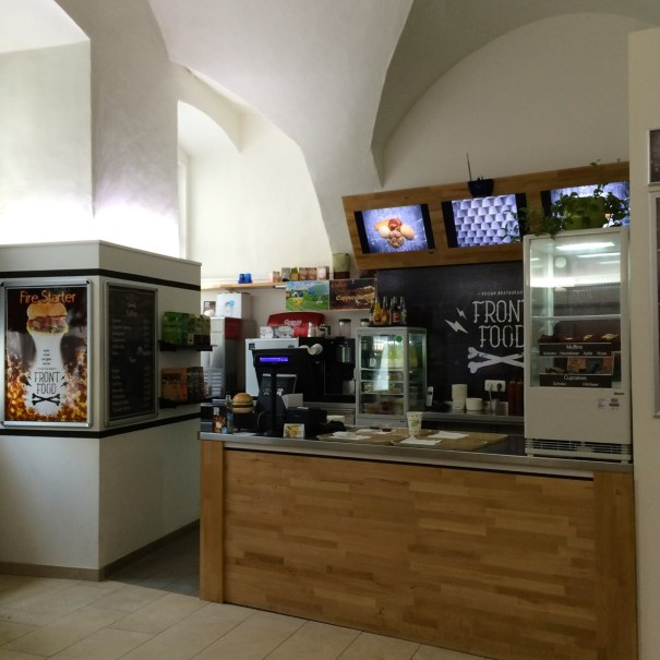 Front Food service area