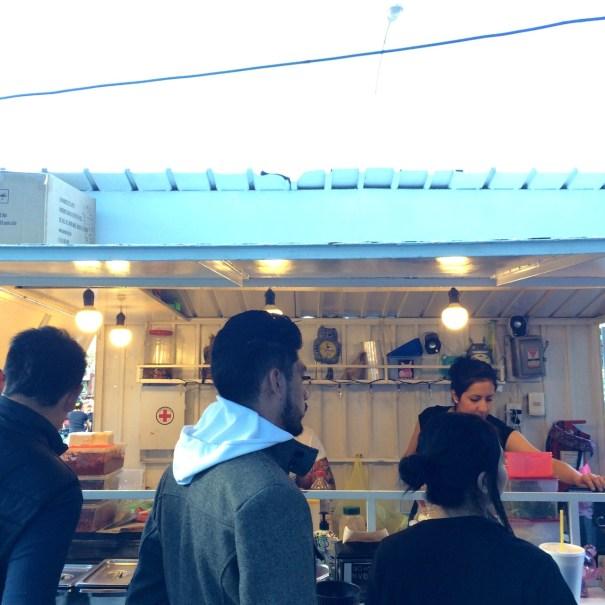 Gatorta street food