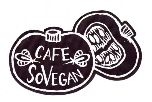 SoVegan logo bandw cutout