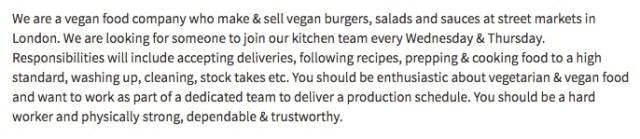 burger job
