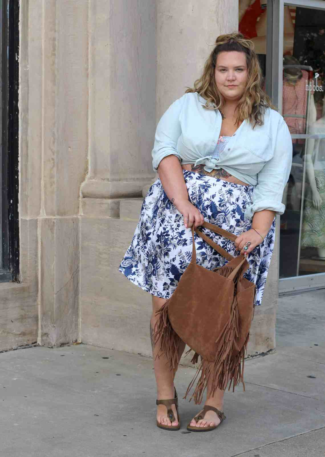 HOW TO NOT BUTTON YOUR SHIRT AT BRUNCH - Fat Girl Flow