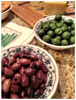 The best olives over...Kalamata (ode to Greece) and Calevestrano (ode to Sicily)