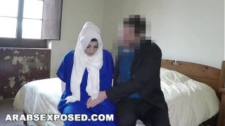 ARABSEXPOSED – Sexy Arab girl and my boss fuck her good for you to see (xc15171)