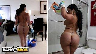 BANGBROS – My Dirty Maid Destiny Slams Her Cuban Big Ass On My Cock