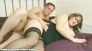 Busty British MILF Leah Jayne Gets Fucked Hard By Young Stud