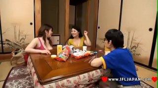 Japanese Girls Reina Nakama, Hitomi Yuki, Sumire Shiratori Hot JAV Scene – More Japanese XXX Full HD Porn at www.IFLJAPAN.com