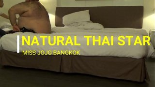 MISS JOJO BANGKOK.  BIG DADDY SLAMS A THAI PRINCESS IN BANGKOK