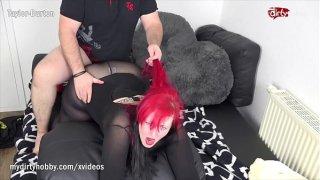 My Dirty Hobby – Redhead BBW takes a big cock