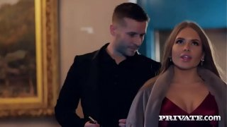 Private.com – Alessandra Jane gets cum on her tits
