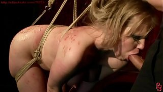 Super hot and super sexy girl bound and trained.BDSM bondage sex movie.