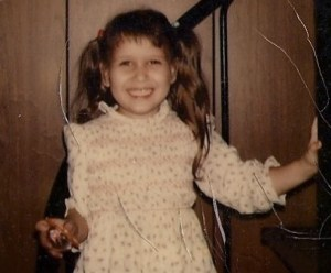 Me in 1977, 5 years old.