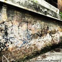 Graffiti near Villa Borghese