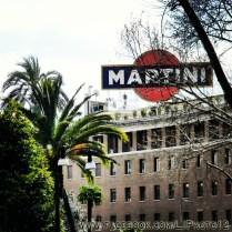 Martini sign near Via Veneto