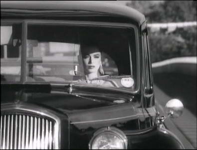 "Image from Duran Duran music video, ""The Chauffeur"""