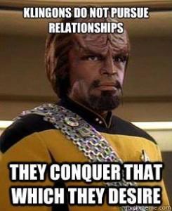 Klingon relationship