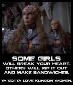 Klingon women