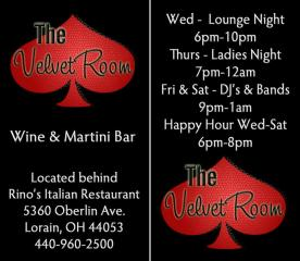 Business card design for Velvet Room with logo creation