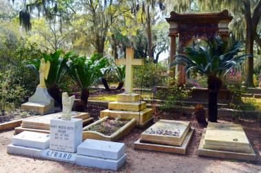 Johnny Mercers's gravesite at Bonaventure Cemetery - Savannah, GA