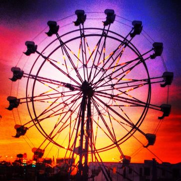 Summer sunset carnival - Elyria, OH