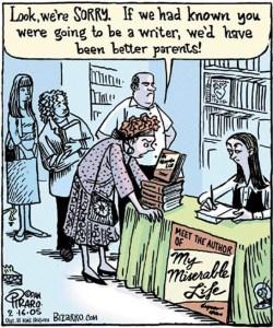 writer bizarro