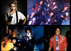 Madonna Prince Michael Jackson Duran Duran music video titans