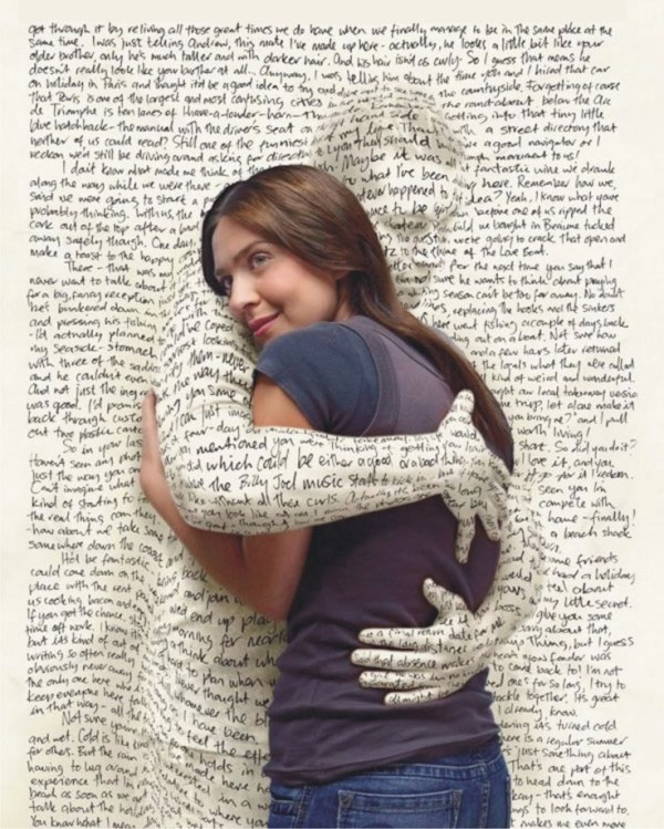 embracing words