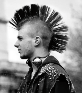 hot mohawk punk rock guys