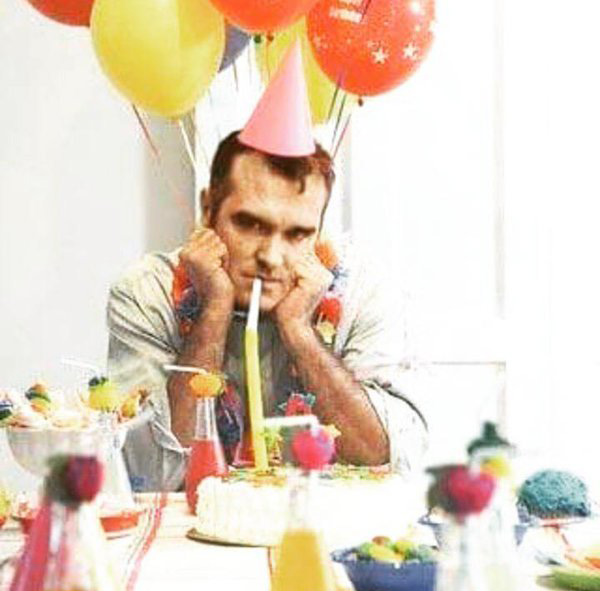 morrissey unhappy birthday