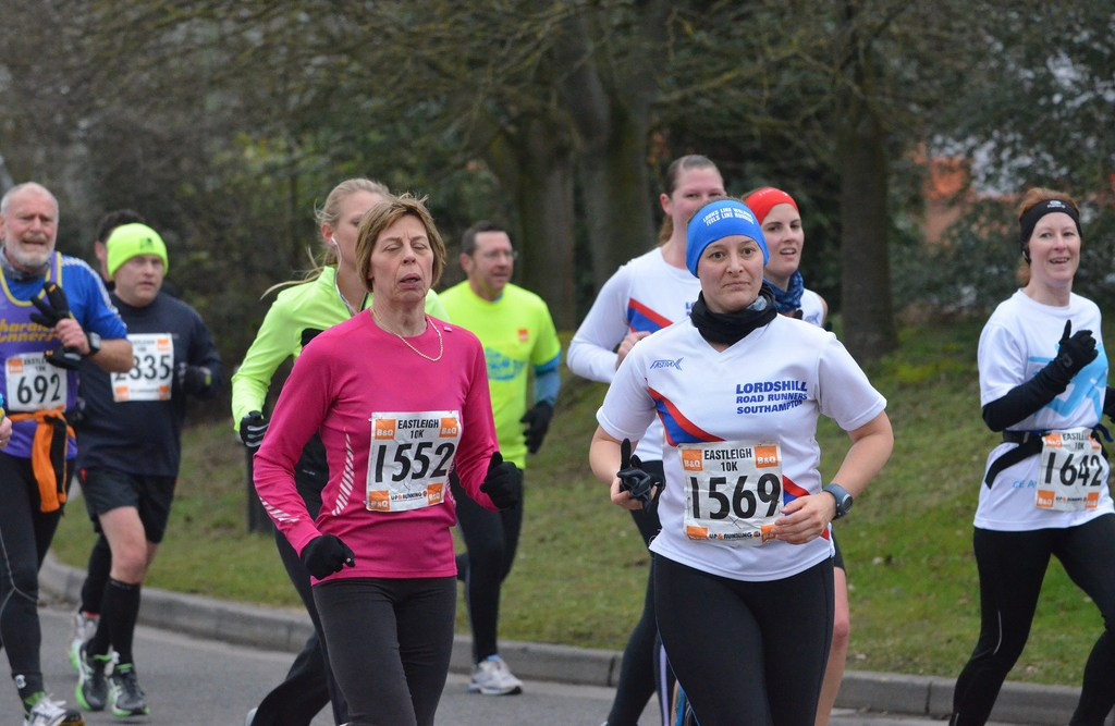 Tamsyn at Eastleigh 10k 2013