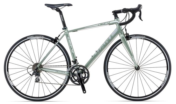 Stuart's new bike: a Giant Defy