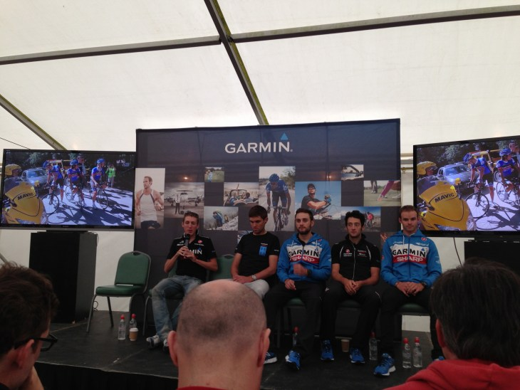 The Garmin Sharp team.