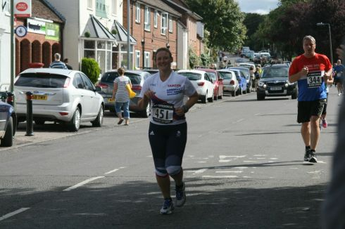 Passing Max in Overton (thanks to Max S. for the photos and the cheers)