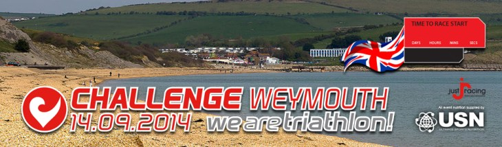 Challenge Weymouth banner.