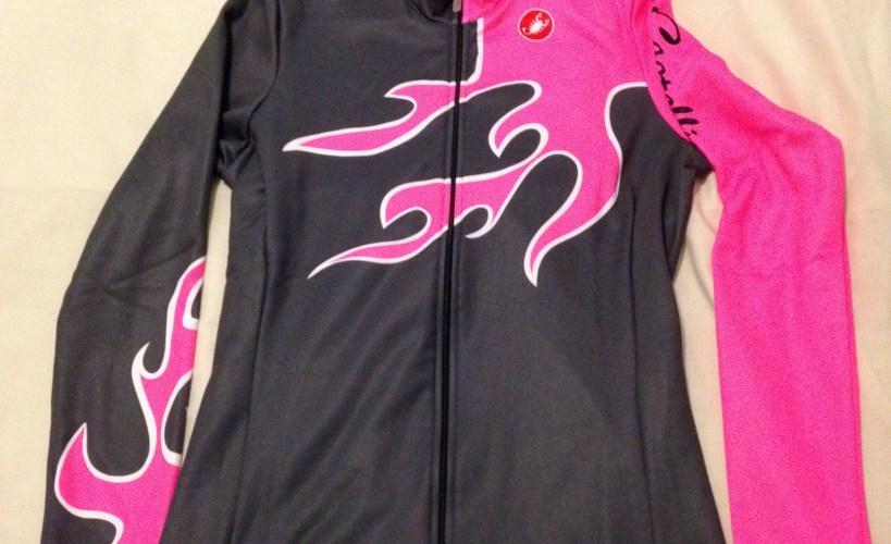Castelli Flamma cycling jersey