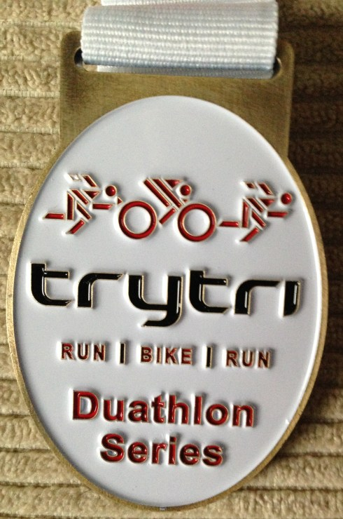 Winchester Duathlon medal