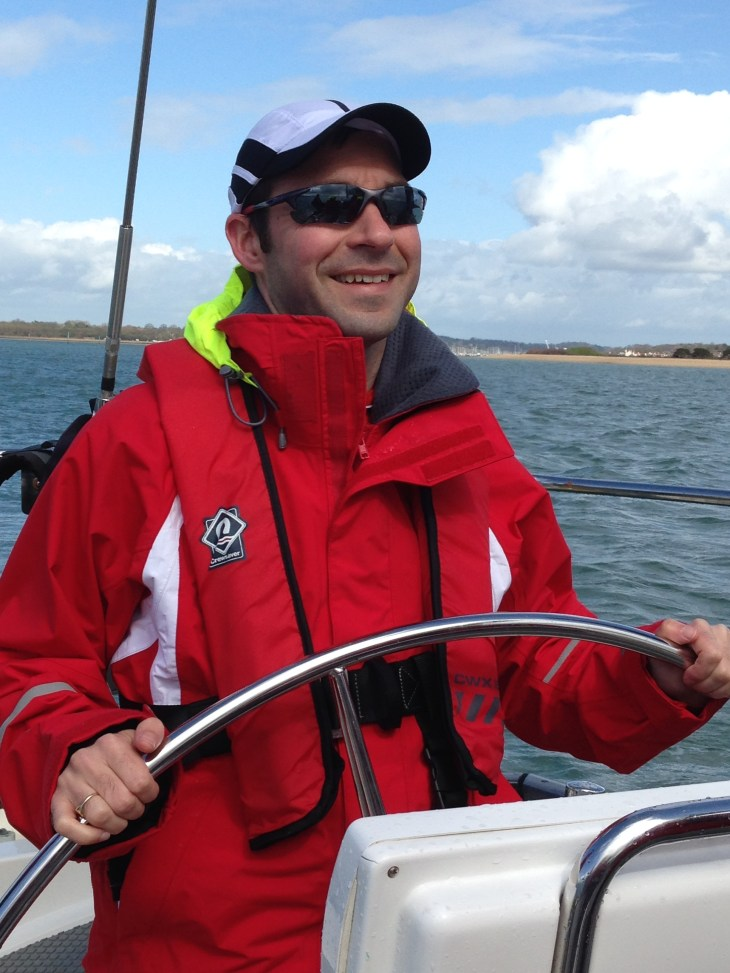 Stuart was first to take the helm