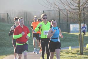 Winchester Duathlon run 2