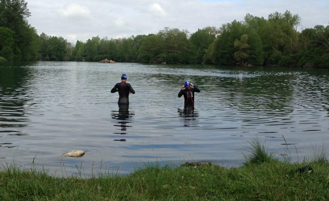 Lake swim on Day 8 Embrace holiday
