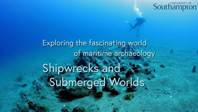 Shipwrecks and Submerged Worlds poster