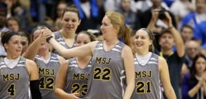Lauren Hill at Hiram v Mount St Joseph