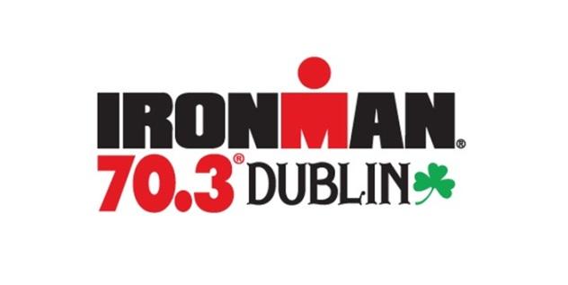 Ironman Dublin 70.3 logo.