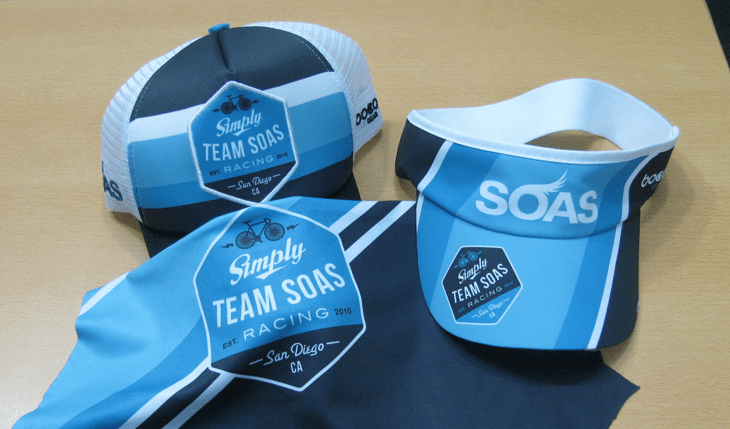Team Soas Cap, visor and vest