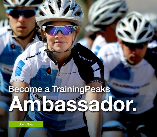 Training Peaks Ambassador