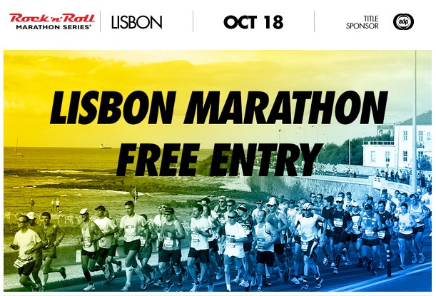 Lisbon rock'n'Roll Marathon free entry